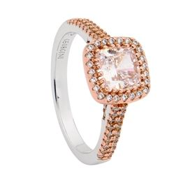 Georgini Rose Plated Argyle Ring (001-021-08862)