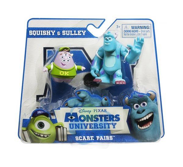 Zestaw 2-ch figurkek: SULLEY I SQUISHY z kolejnej części filmu Potwory i Spółka  #zabawki #supermisiopl