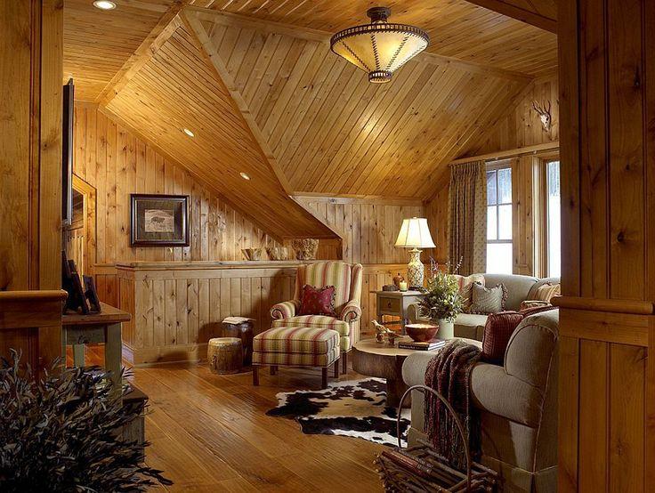 Superb amenajată cabana asta de munte