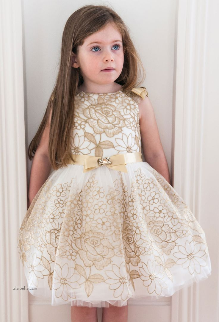 ALALOSHA: VOGUE ENFANTS: Tu chica especial se volverá loco de estos vestidos de David Charles AW'15