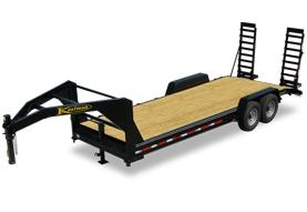 15,000 GVWR / 20 ft. Equipment Gooseneck Trailer for Sale - `DELUXE