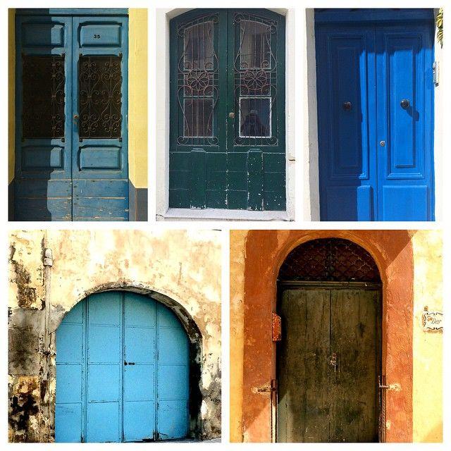 Doors of Gozo. Wee selection #maltaismore #doors #architecture
