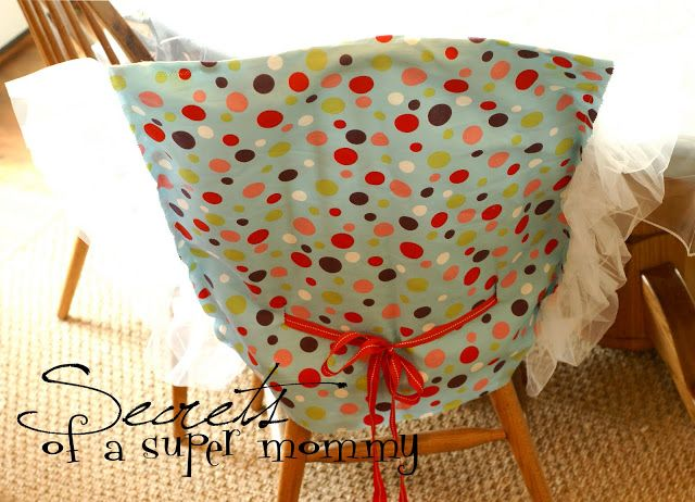 Secrets of a Super Mommy: The Birthday Chair Cover