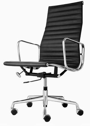 Modern Classic Office Chair Design With Ergonomic Ideas And Black Color ~  Http://