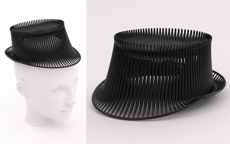 hat, printed by studioluminaire.com