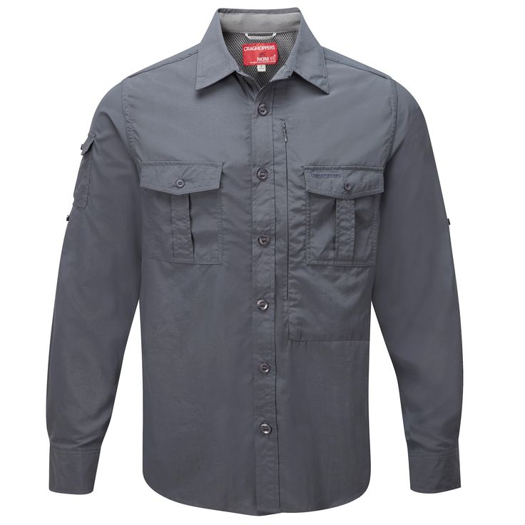 Extra lightweight and ultra comfortable our travel shirt for Lightweight long sleeve fishing shirts