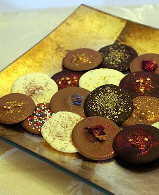 Chocolate Thins - the perfect edible gift!