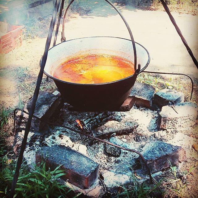 Bogrács 😄 #summer #lunch #food #hungaricum #hungarianfood #hungarian