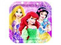 """Assiette 7"""" Princesses Disney - Plate 7"""" Disney Princess"""