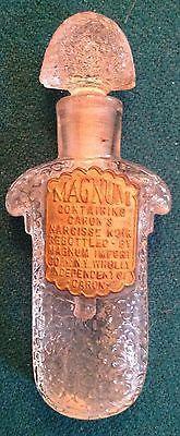 *Vintage Caron Magnum Of Narcisse Noir Perfume Bottle