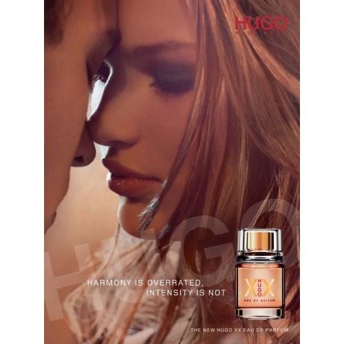Hugo XX is vrijblijvend,een verleidelijke gourmand geur gewijd aan een volwassen,aantrekkelijke en romantische vrouw.