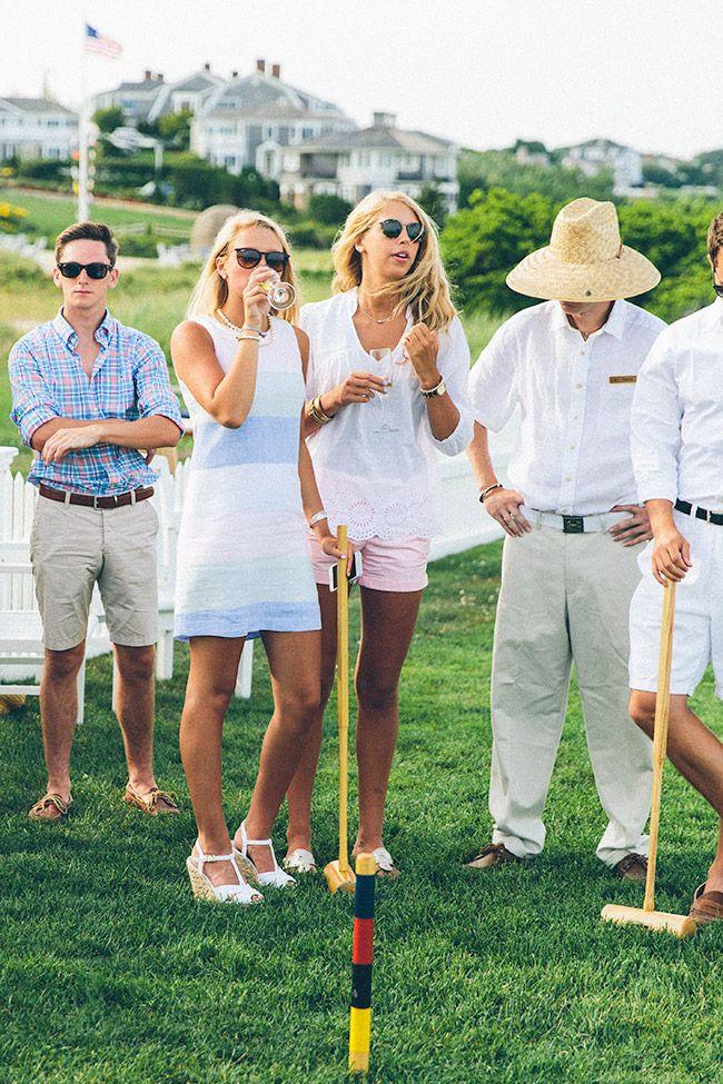 Classy Girls Wear Pearls: Feeling Croquet