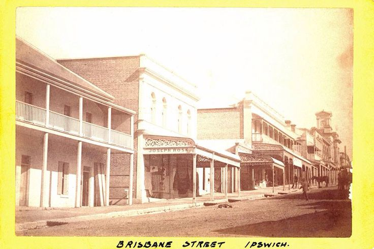 Rose's Emporium Brisbane St Ipswich approx 1895