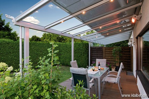 39 best Terasse images on Pinterest Covered patios, Arbors and - auswahl materialien terrassenuberdachung