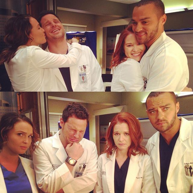 GREY'S ANATOMY, thesarahdrewgreys: Will they? Won't they? #Japril...
