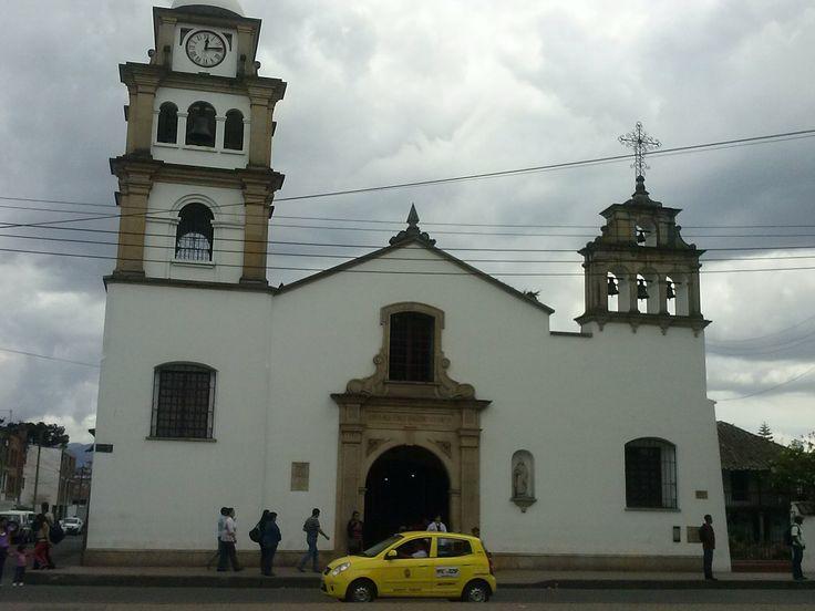 Iglesia Fontibon. Colombia