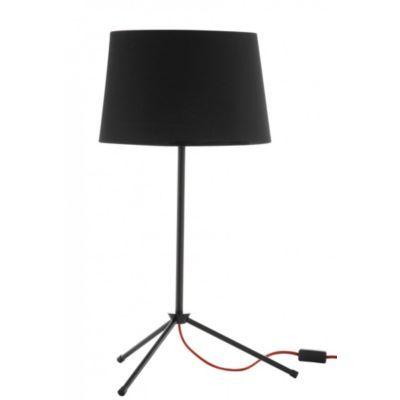 Produit : ALONE - Lampe à Poser H. 70 Cm Noir/rouge Thème : Au boulot la déco ! Ajouté à la liste de christelle via 35ansFly.fr