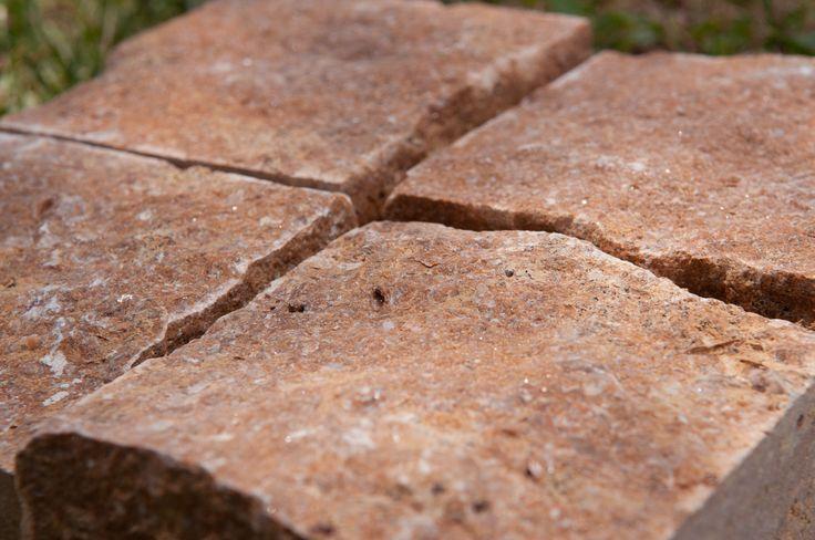 Kallimarmaron Bolari | Marble Quarrying & Manufacturing | Terra Coral Cube Stones