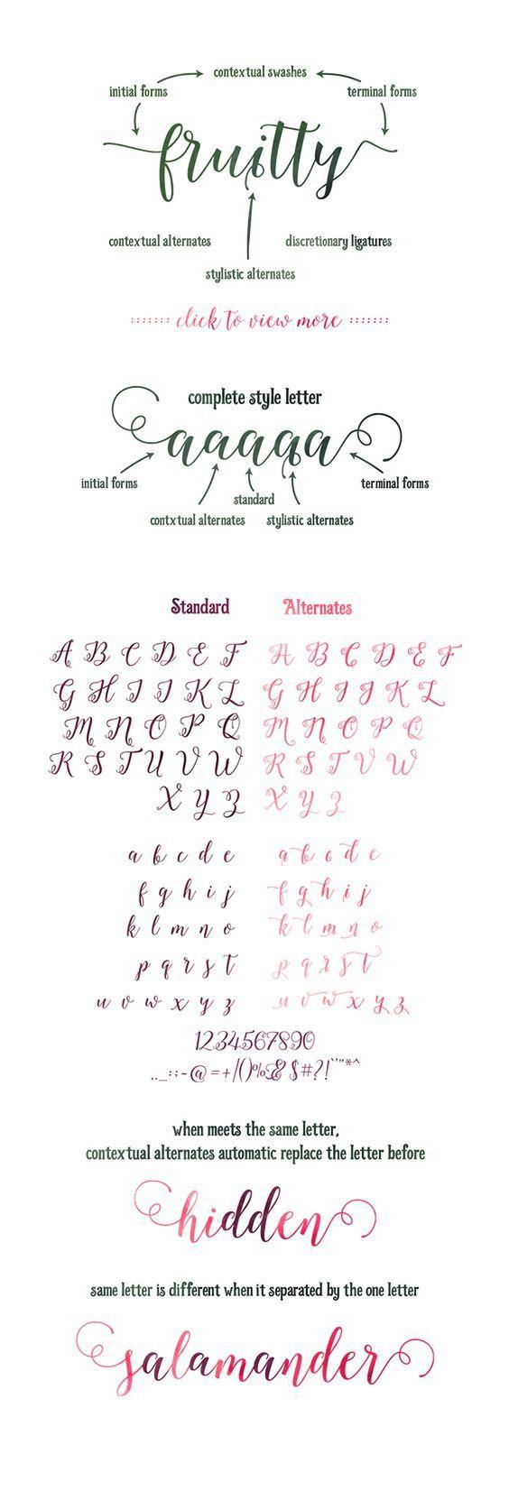 39 besten Calligraphy Bilder auf Pinterest | Schriftarten ...