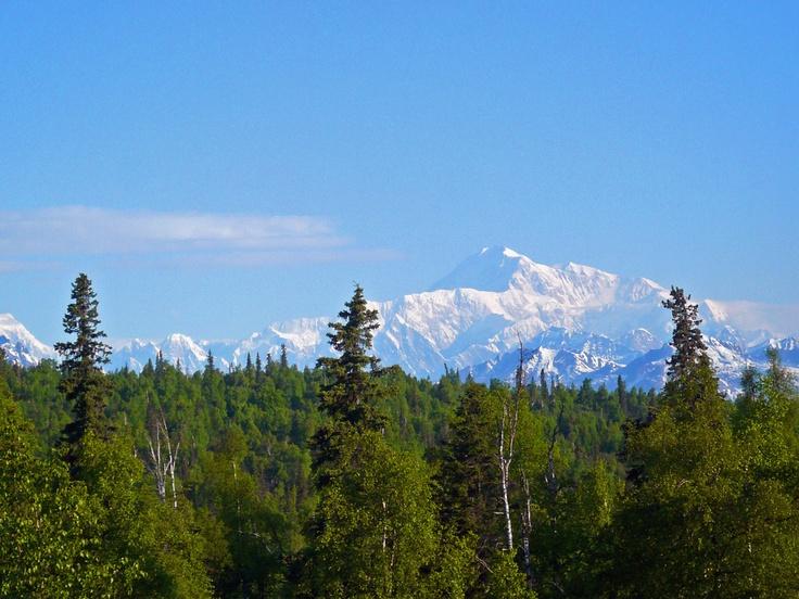 #princesscruises #travel  A rare clear view of majestic Mt. Mckinley, Alaska