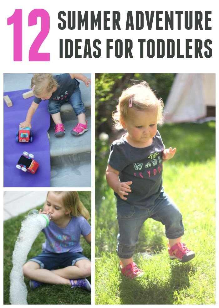 Here Are 12 Simple Toddler Summer Activities To Try Sponsored Keenkidssummer