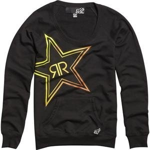 fox racing women s rockstar fade pullover sweatshirt. Black Bedroom Furniture Sets. Home Design Ideas