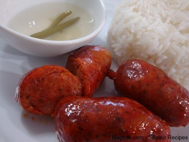 how to cook longanisa filipino style
