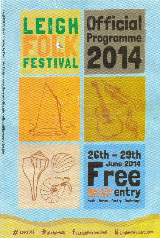Leigh Folk Festival 2014 @ Leigh-on-Sea, Essex, 29th June 2014