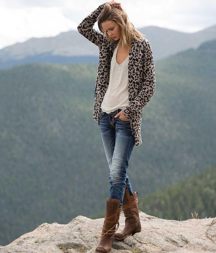 Daytrip Leopard Cardigan Sweater - Women's Cardigans | Buckle