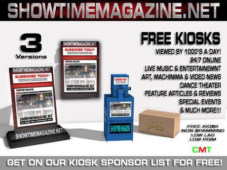 SHOWTIME Magazine KIOSK V4