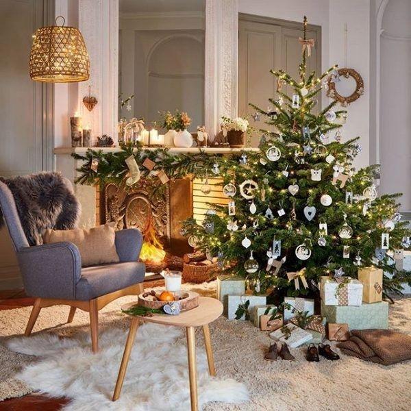 Les 7 Collections Deco Tendance Accessibles De Gifi Pour Noel 2018 Deco Noel Gifi Deco Et Deco Noel