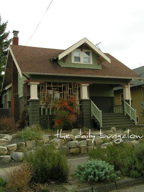 1000 Images About Bungalow Exteriors On Pinterest