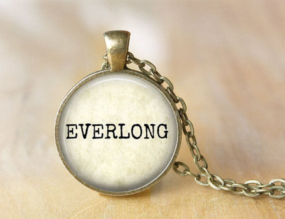 EVERLONG  Music Lyric Necklace  Quote by ShakespearesSisters, $10.00