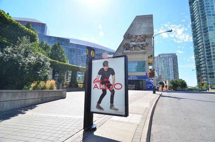 Aldo - Signature Column #OOH #Advertising #Toronto ...