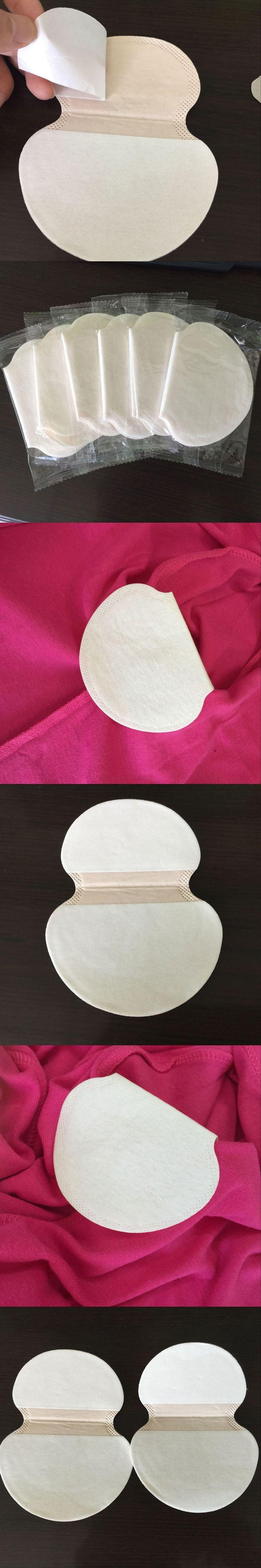50/100Pcs Summer Deodorants Underarm Sweat Pads for Clothing Disposable Anti Sweat Stickers Armpit Shield Underarm Sweat Pads