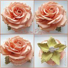 Флористика искусственная Моделирование конструирование Цветы из фоамирана  Фоамиран фом фото 19
