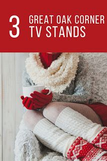 Smart Working is Hard Working: Oak Corner TV Stand