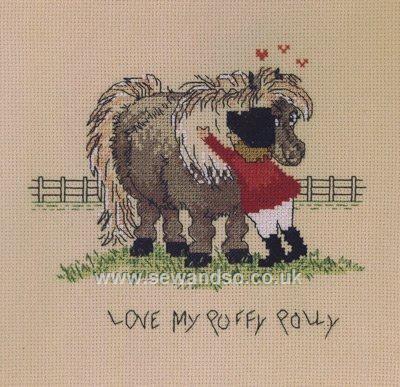 Love My Puffy Pony