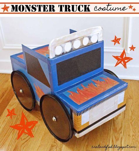 Best 25+ Monster truck costume ideas on Pinterest   Monster truck ...
