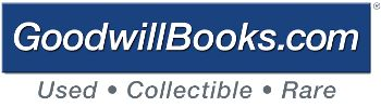 Goodwill Books- cheap books to decorate with