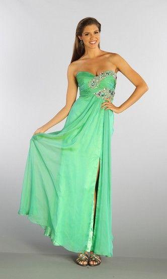 free shipping green dress 2016 pageant dresses for women vestidos formales long ball gowns crystal  beaded Homecoming Dresses