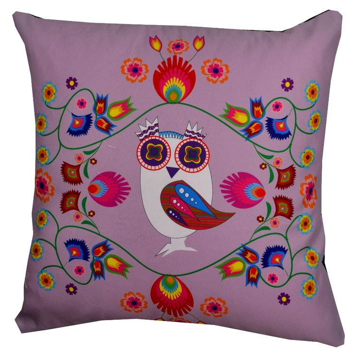 Designer decorative Folk pillow № gd403