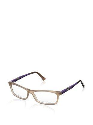 59% OFF EMPORIO ARMANI Women's EA9845 Eyeglasses, Light Brown Violet