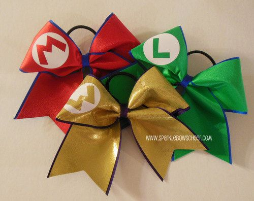 Mario, Wario and Luigi Set Cheer Bow