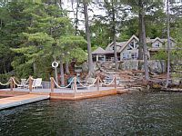 5BR 4BA vacation cottage in Haliburton for rent . For more details and photos visit HomeAway 221906
