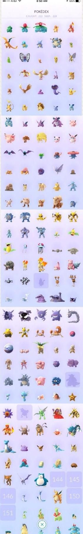 [screenshot] day 1 trainer - i finally joined the gen 1 pokedex completion club (non-regionals) thanks to aerodactyl
