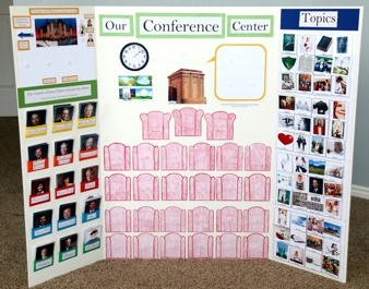 General Conference board: Families Blog, Lds Conference, Centers Boards, Fhe Church Idea, General Conference, Conference Boards, Cute Idea, Fhechurch Idea, Conference Centers