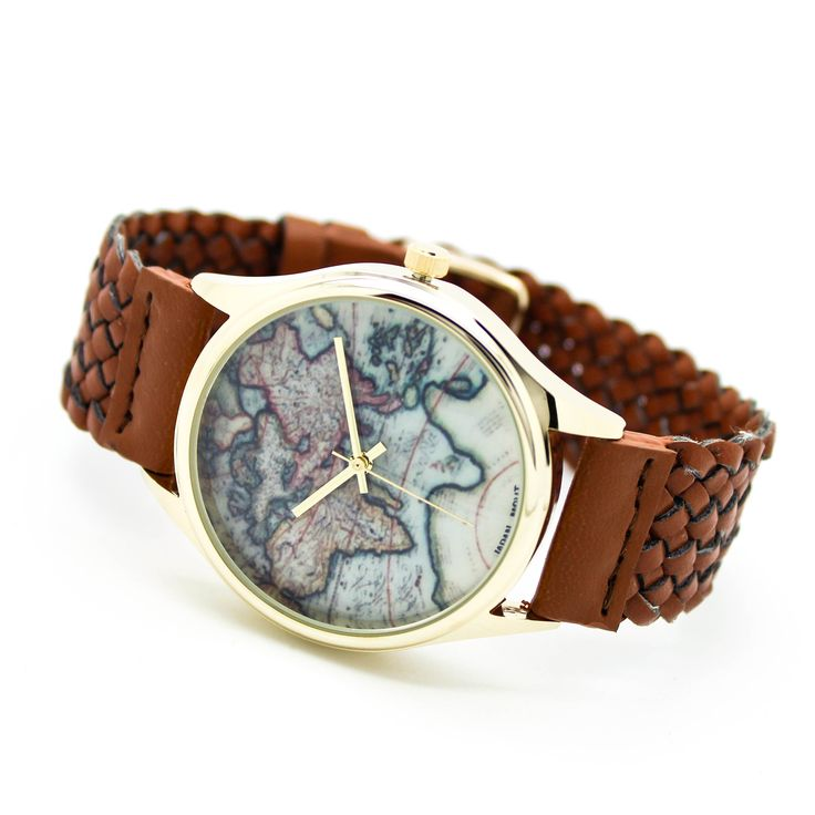 World map watch (4 colors) – Imsmistyle.