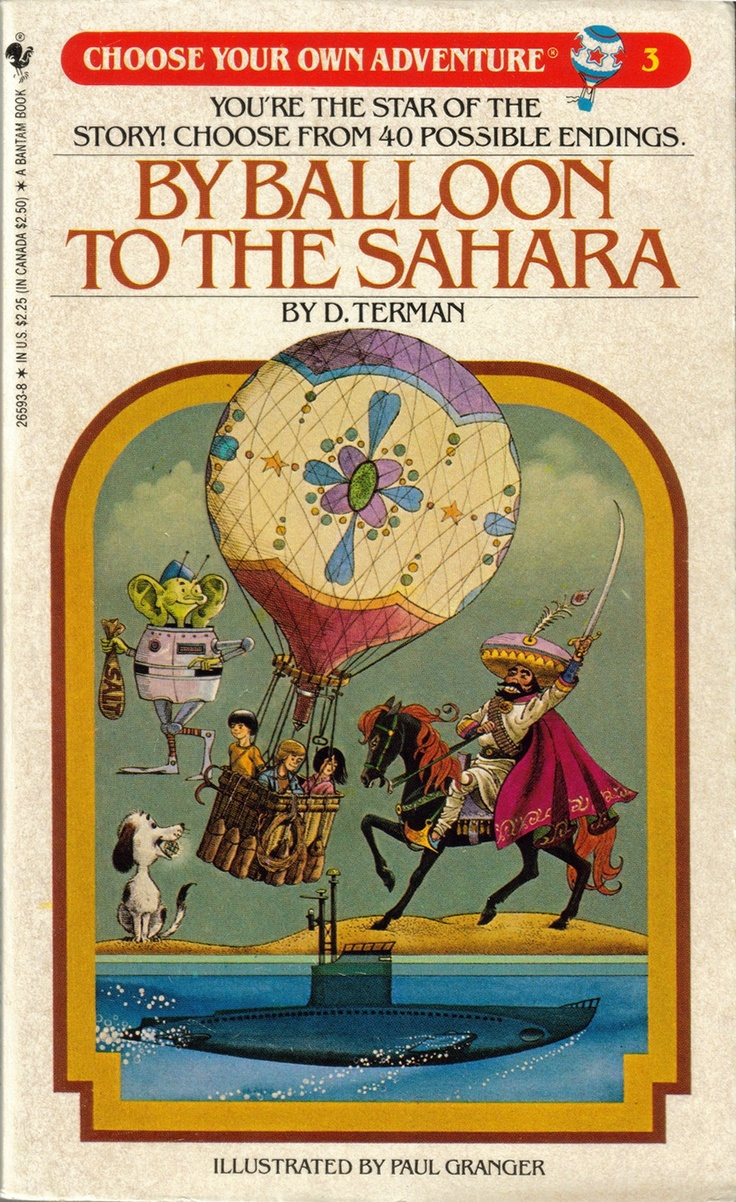 By Balloon to the Sahara (Choose Your Own Adventure Great product!