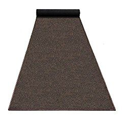 4'x8′ – RICH BROWN – ECONOMY POOL & PATIO – Indoor/ Outdoor Carpet Rugs, Runners & Mats | Light Weight Spun Olefin Reliably Comfortable!